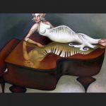 Print - She's Got the Key - Series by Tanya Loviz