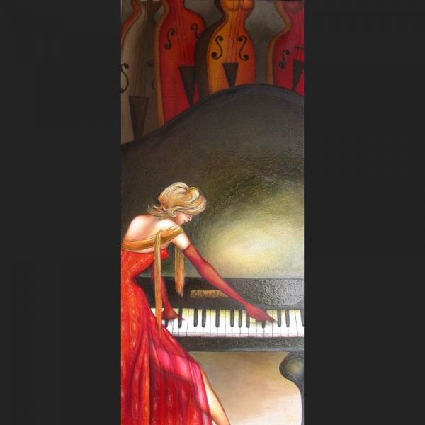 Print - Sung with Strings - Series by Tanya Loviz