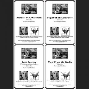 Sheet Music All Four Titles - Download