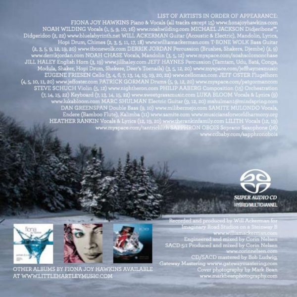 Blue Dream SACD hybrid/multichannel - Fiona Joy