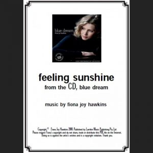 BLUE DREAM – feeling sunshine – Sheet Music – Download