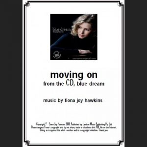 BLUE DREAM - moving on - Sheet Music - Download