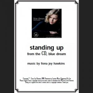 BLUE DREAM - standing up - Sheet Music - Download
