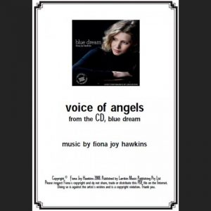 BLUE DREAM - voice of angels - Sheet Music - Download