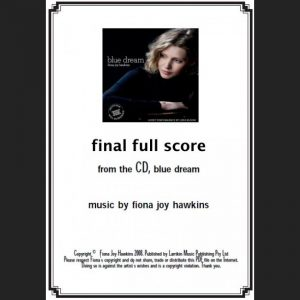 BLUE DREAM - final full score - Sheet Music - Download