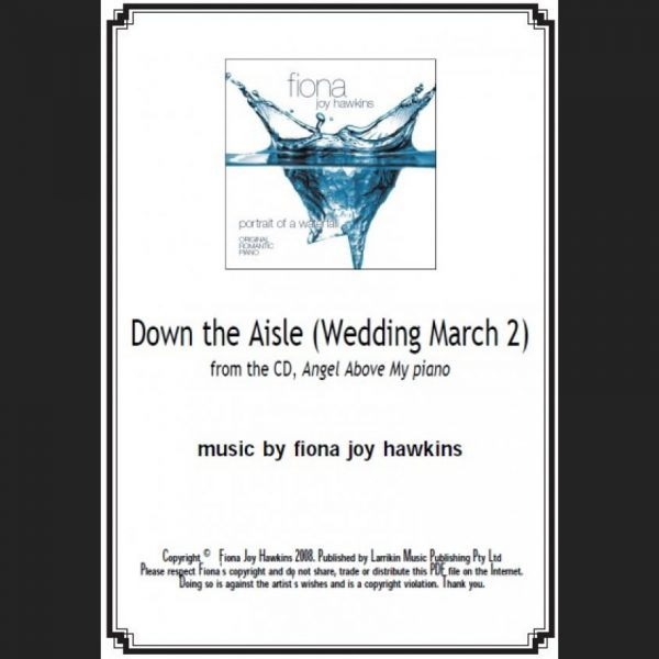 Down the Aisle - Wedding March 2 - Sheet Music - Download