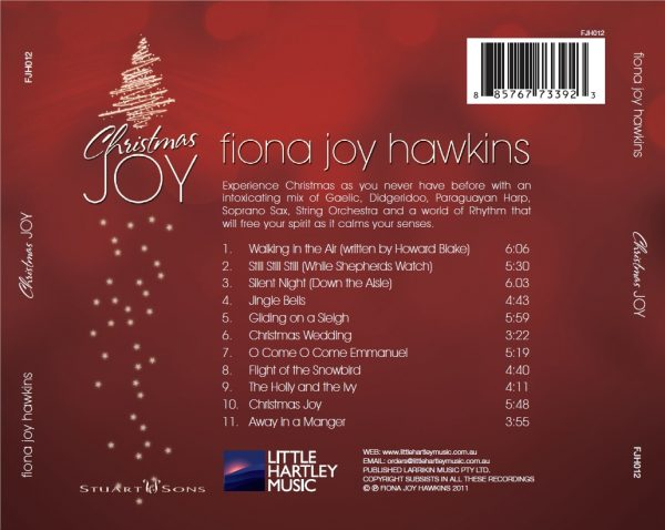 Fiona Joy - Christmas-Joy - Back Cover